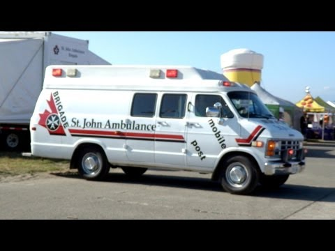 St John Ambulance Mobile First Aid Post- Abbotsford Airshow 2011