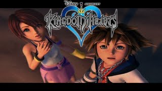Repeat youtube video Kingdom Hearts Opening Intro Cutscene