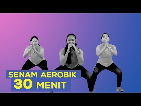 Yuk Lakukan Gerakan Senam Aerobik Selama 30 Menit Untuk Hilangkan Lemak !