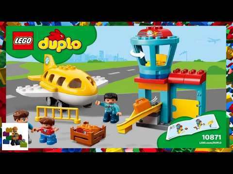 LEGO Instructions - DUPLO - 10871 - Airport