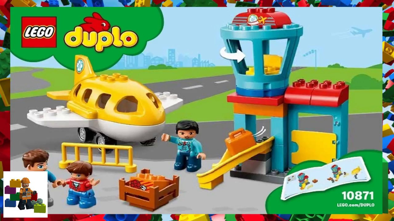 Lego Instructions Duplo 10871 Airport Youtube