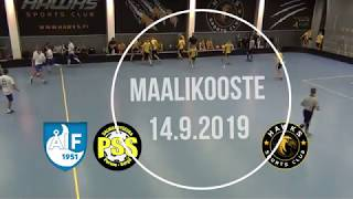 Maalikooste ÅIF/PSS B-pojat - Hawks (SM Karsintapeli 14.9.2019)