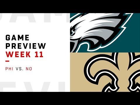 Philadelphia Eagles vs. New Orleans Saints | Week 11 Game Preview | Move the Sticks