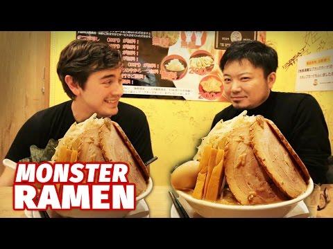 Monster Ramen Challenge   Akihabara, Tokyo