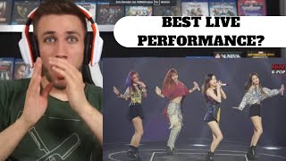 Gambar cover BLACKPINK (블랙핑크) INTRO + BOOMBAYAH (Japanese Ver.) Live Premium Debut Showcase Japan 2017 - Reaction
