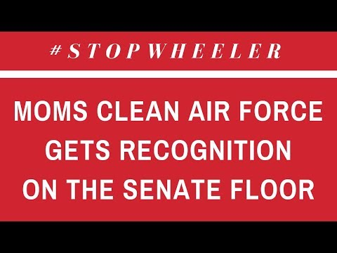 Moms Clean Air Force is Recognized on the Senate Floor