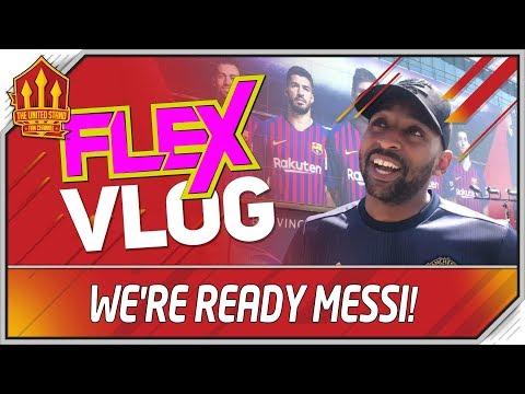 Barcelona vs Manchester United Champions League | ROAD TRIP | Man Utd News