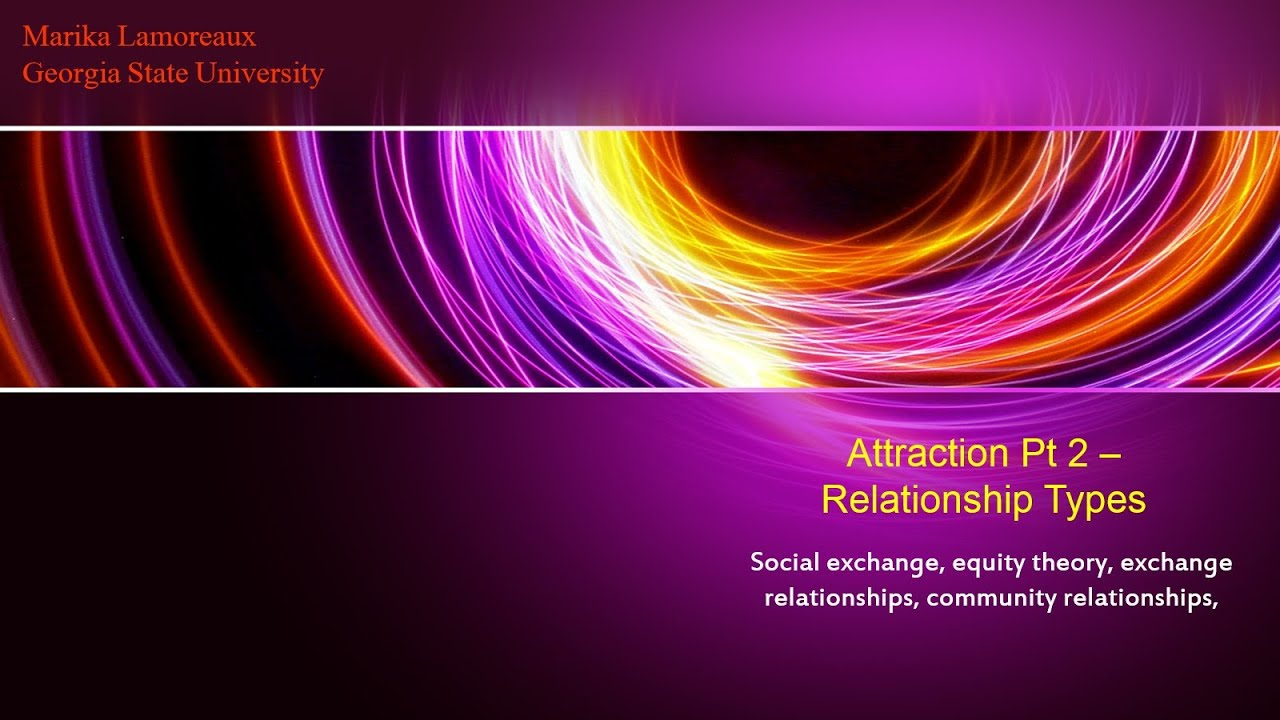 social exchange and equity theory