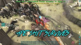 Ark Official PvP Small Tribes | Defense From Server 20
