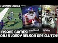 ODELL BECKHAM JR & JORDY NELSON ARE CLUTCH! 2 ULTIMATE LEGENDS! Madden 18 Ultimate Team