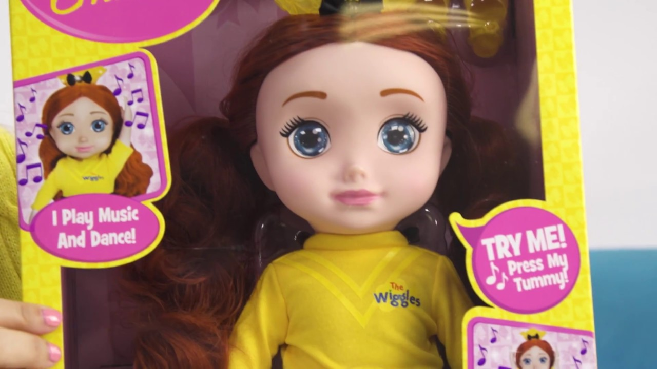 35fb2b72c1951 Unboxing with Nat & Chloe: The Wiggles' Emma Ballerina Dancing Doll ...