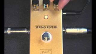zcat spring reverb pedal