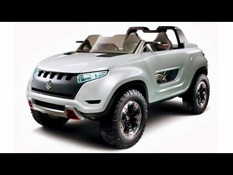 suzuki x lander hybrid concept 4x4 2013 plataforma do jimny youtube. Black Bedroom Furniture Sets. Home Design Ideas