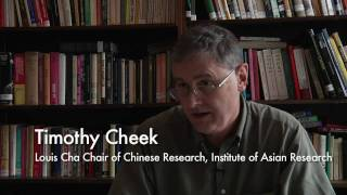 Relationship between Chinese intellectuals and the state - Timothy Cheek [2 / 5]