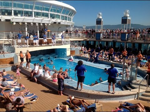 2016 canary islands portugal and spain cruise on P&O Azura - necropaster