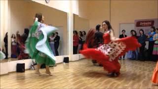 Открытый урок в школе цыганского танца