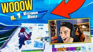 MY FIRST REAL VITTORY in ONLY ON PC 🔥 Fortnite ITA