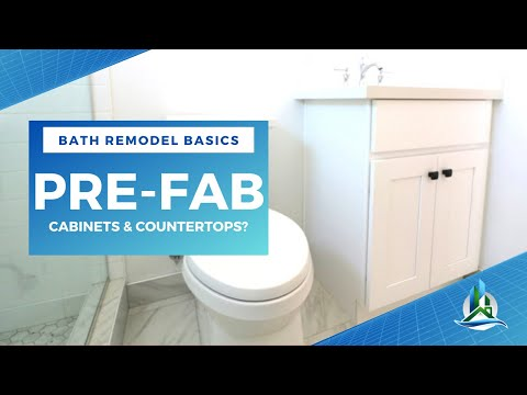 Prefab Vanities & Countertops | Bath Remodel Basics - Bay Cities Construction