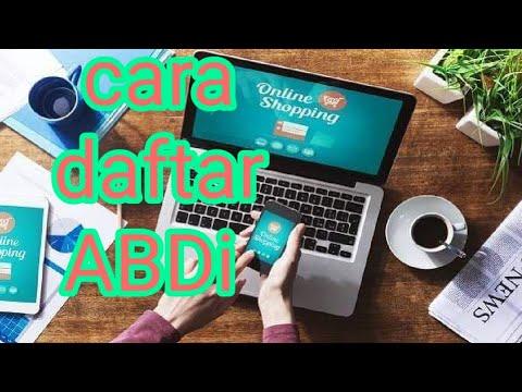 CARA MUDAH DAFTAR BISNIS ONLINE DI ABDi 2020 - YouTube