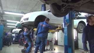 Замена глушителя на Volkswagen Passat . Замена глушителя на авто Volkswagen Passat  в СПБ(, 2015-05-04T08:55:33.000Z)