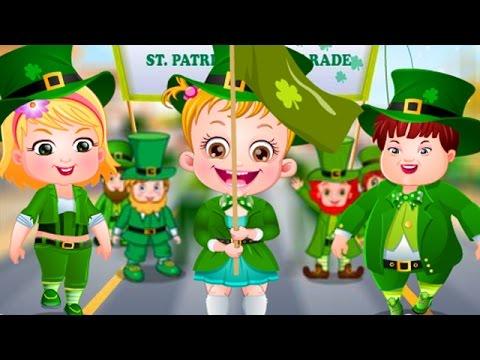 Baby Hazel Game Movie - Baby Hazel St Patrick's Day - Dora the Explorer