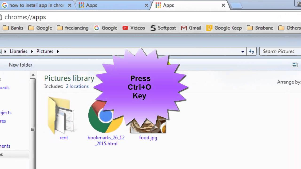 How to open local file in chrome