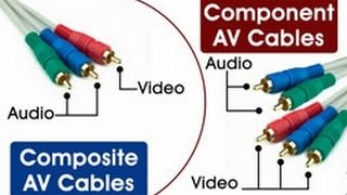 Striking Differences Between Component and Composite Video Cables