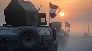 قصف جوي ومدفعي باتجاه مواقع داعش في الموصل ومحيطها