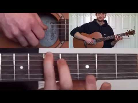 how to play when she cries by andy mckee (guitar lesson - tutorial)