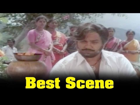 Ninaivu Chinnam Movie : Prabhu And Village Peoples Meeting