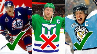 The BEST Hockey Jerseys of ALL TIME