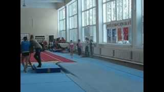 София Тертышная, прыжок, Харьков, декабрь 2012