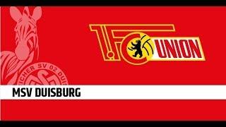 MSV Duisburg gg. 1. FC Union Berlin | 29/10/2017| 2. Bundesliga 2017/2018