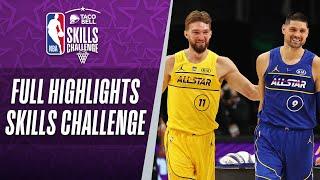 #TacoBellSkills Challenge Full Highlights | 2021 #NBAAllStar