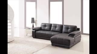 Divani Casa 2972   Modern Bonded Leather Sectional Sofa