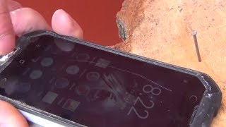 Смартфон Blackview BV6000s Распаковка и краш-тест Smartphone Unpacking and Testing IP68 BV6000s