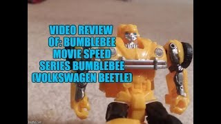 Bumblebee Movie Speed Series Bumblebee (Volkswagen Beetle)