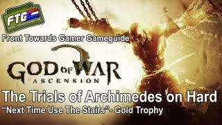 God of War Ascension: Trial of Archimedes on Hard Difficulty