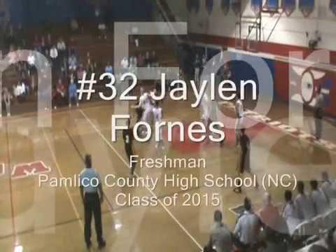 Jaylen Fornes Freshman Pamlico County High School