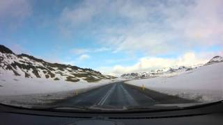 Iceland March 2016 dash cam footage