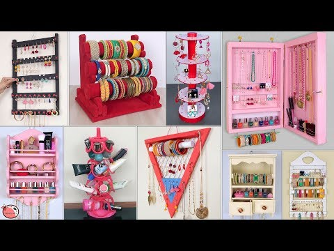 10 DIY Jewelry Organization Idea !!! Every Women Should Know !!!