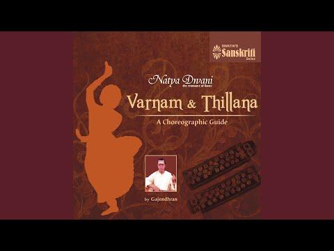 Orchestration of Thillana - Brindavana Saranga - Adi (Instrumental)