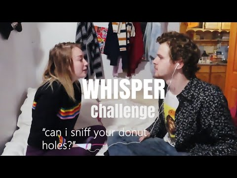 The Whisper Challenge with MY BOY