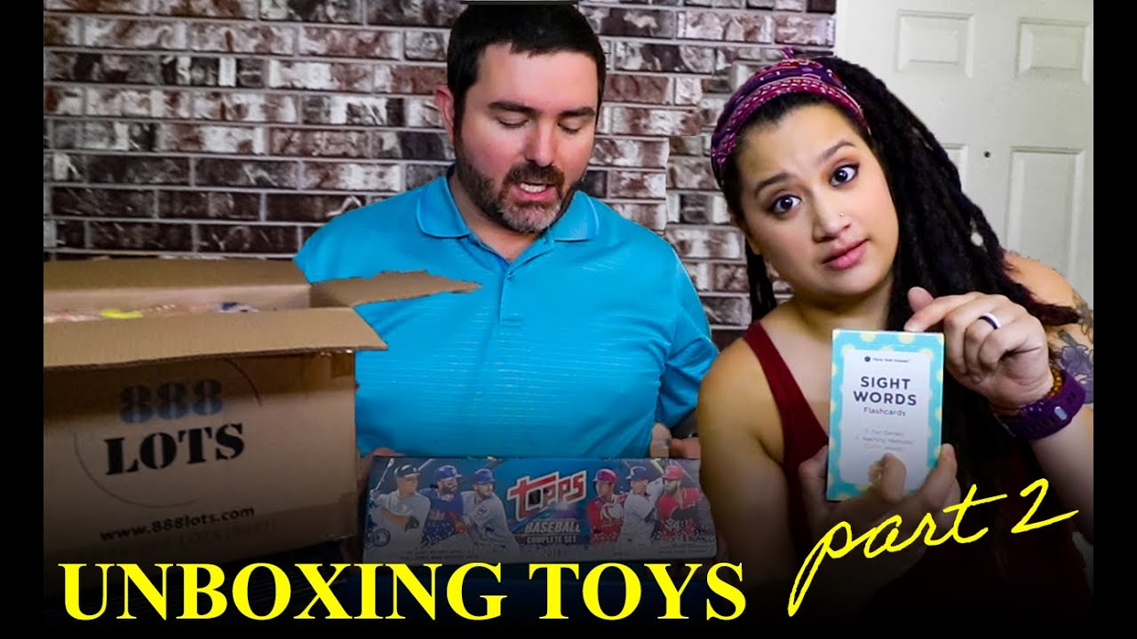 TOYS, TOYS, & More Toys.  Unboxing a Lot of Children's Toys from 888 Lots | Part 2