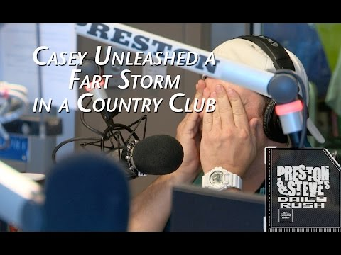 Casey Unleashed a Fart Storm in a Country Club  Preston & Steves Daily Rush