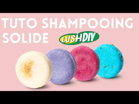 ✮DIY ✮ DUPE Lush ✮ Tuto Shampooing Solide & Recette | Solid Shampoo | Caly Beauty