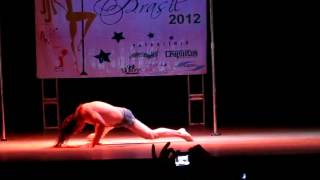 The Winner of Brasilian Pole Dance Competition Miss Pole Dance Brasil