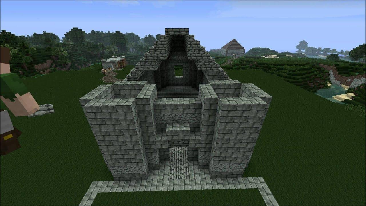 Kleine Kirche Minecraft