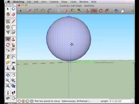 sphere sketchup