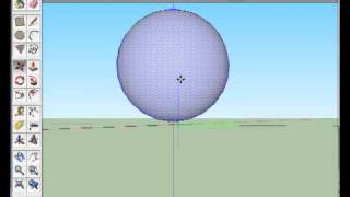 Create a ball/sphere shape in sketchup